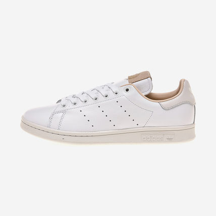adidas Casual Style Unisex Street Style Plain Logo Low-Top Sneakers