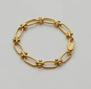 Casual Style Unisex Party Style Brass 18K Gold Elegant Style