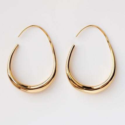 Casual Style Party Style Brass Elegant Style Earrings