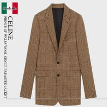CELINE Classic Classic Jacket In Prince Of Wales
