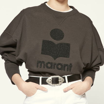 Crew Neck Short Long Sleeves Cotton Puff Sleeves Logo