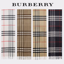 Burberry Other Plaid Patterns Cashmere Scarves