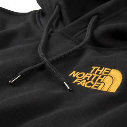 THE NORTH FACE Hoodies Pullovers Unisex Long Sleeves Plain Logo Outdoor Hoodies 4