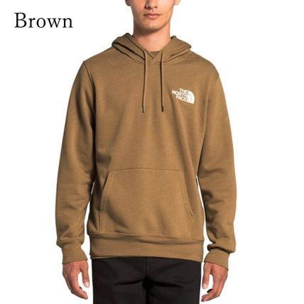 THE NORTH FACE Hoodies Pullovers Unisex Long Sleeves Plain Logo Outdoor Hoodies 5