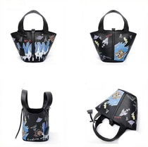 Casual Style 2WAY Purses Office Style Crossbody Bucket Bags