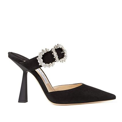 Jimmy Choo Suede Party Style Elegant Style Sandals