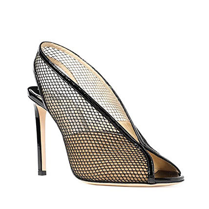 Jimmy Choo Open Toe Casual Style Plain Pin Heels Party Style
