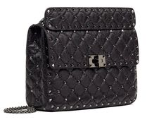 VALENTINO Casual Style Lambskin Studded Party Style Office Style