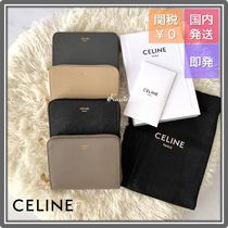 CELINE Tri Fold Long Wallet  Small Wallet Logo Coin Cases