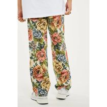 JADED LONDON More Jeans Flower Patterns Street Style Cotton Jeans 4