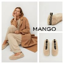 MANGO Logo Ballet Shoes