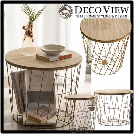 DECO VIEW Night Stands Table & Chair