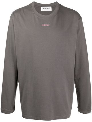 Pullovers Unisex Long Sleeves Plain Cotton