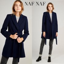 NAF NAF Casual Style Wool Plain Medium Party Style Office Style