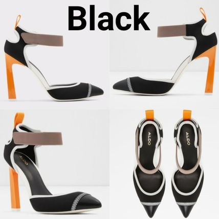 Casual Style Blended Fabrics Pin Heels Party Style