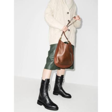 Casual Style Leather Party Style Shoulder Bags