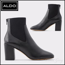 ALDO [ALDO] Elegant Leather Ankle Boots - Kealla