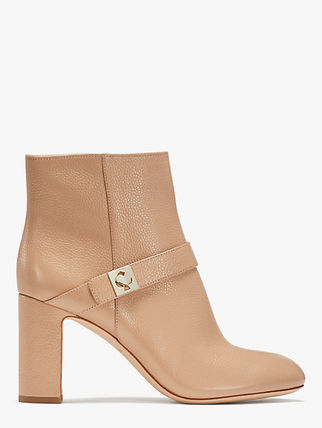 kate spade new york Plain Leather Boots Boots