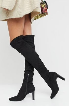 Elegant Style Over-the-Knee Boots