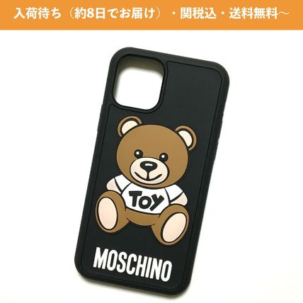 Moschino Unisex Street Style Logo iPhone 11 Pro Smart Phone Cases