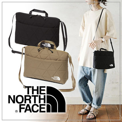 THE NORTH FACE 2WAY Plain Small Shoulder Bag Logo Bags