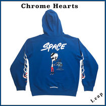 CHROME HEARTS Unisex Street Style Collaboration Hoodies