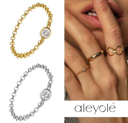 Costume Jewelry Casual Style Party Style Silver 18K Gold
