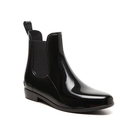 Ralph Lauren Rubber Sole Bi-color Plain Flat Boots