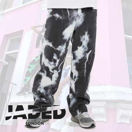 JADED LONDON More Jeans Street Style Cotton Jeans