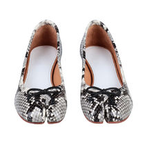 Maison Margiela Tabi Other Animal Patterns Logo Kitten Heel Pumps & Mules