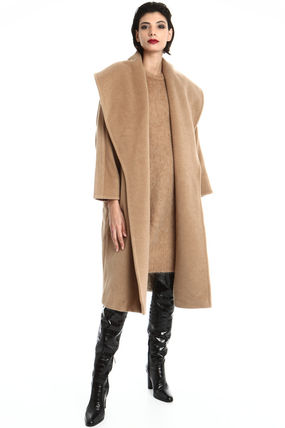 Casual Style Office Style Elegant Style Formal Style  Coats