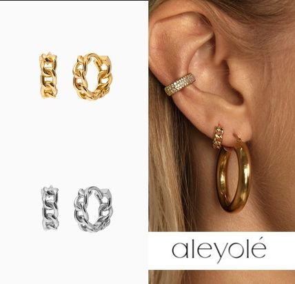 aleyole Costume Jewelry Casual Style Party Style 18K Gold