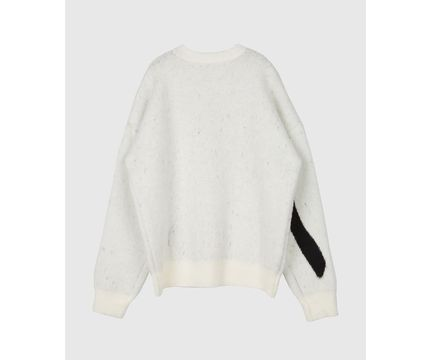 Raucohouse Sweaters Long Sleeves Oversized Logo Sweaters 8