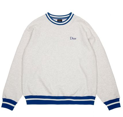 Street Style Long Sleeves Cotton Logo Skater Style