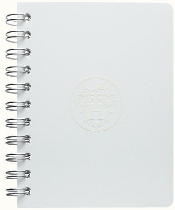 HERMES Unisex Icy Color Notebooks