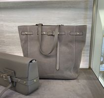 Jimmy Choo Plain Office Style Totes