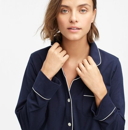 J Crew Co-ord Plain Cotton Lounge & Sleepwear