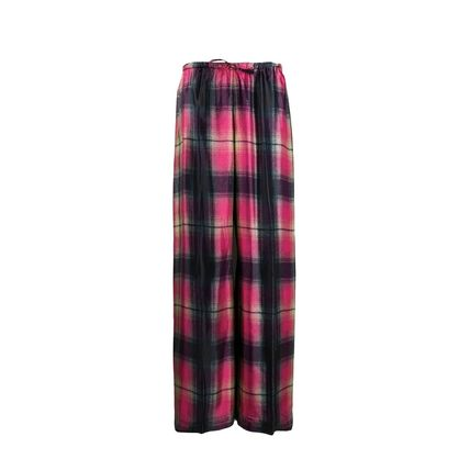 Other Plaid Patterns Casual Style Long Elegant Style Pants