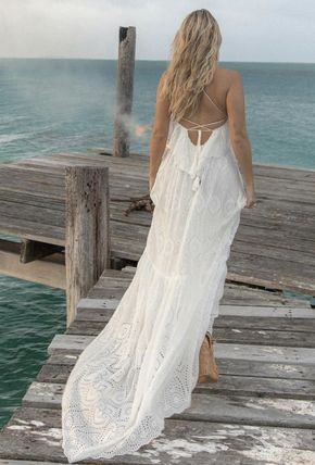 Formal Style  Maxi Sleeveless Plain Long Lace Dresses