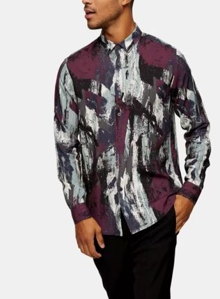 Street Style Long Sleeves Shirts