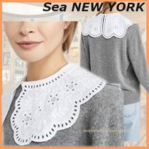 Sea NEW YORK Casual Style Plain Cotton Elegant Style Collars
