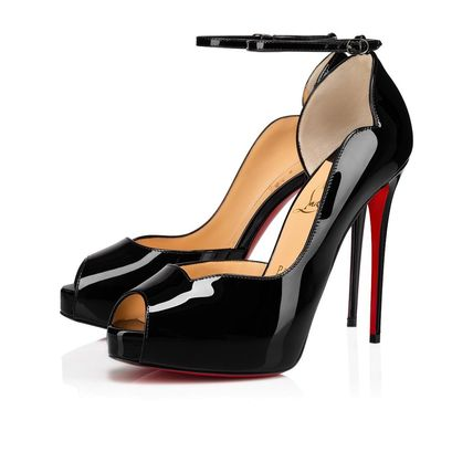 Christian Louboutin Platform Plain Pin Heels Party Style Office Style