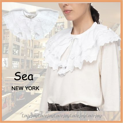 Sea NEW YORK Casual Style Plain Cotton Party Style Elegant Style Bridal