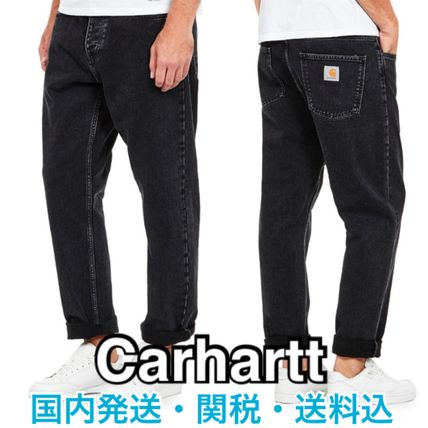 Carhartt More Jeans Tapered Pants Denim Street Style Plain Logo Jeans