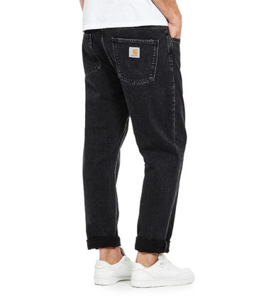 Carhartt More Jeans Tapered Pants Denim Street Style Plain Logo Jeans 3