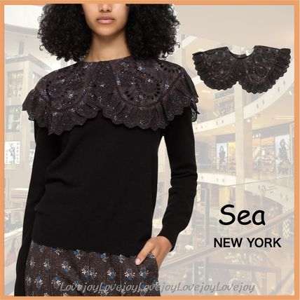 Sea NEW YORK Flower Patterns Casual Style Cotton Party Style