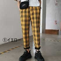 Printed Pants Other Plaid Patterns Street Style