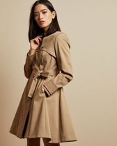 TED BAKER Casual Style Plain Long Office Style Elegant Style