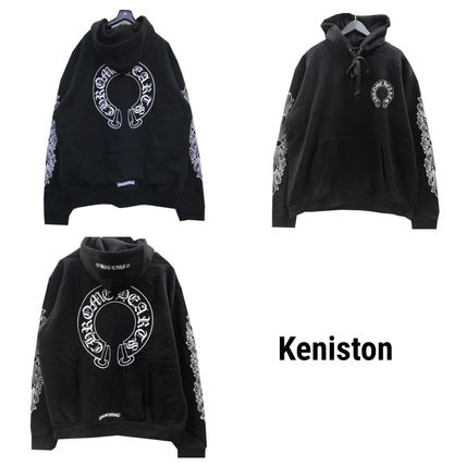 CHROME HEARTS Graphic Prints Hoodies