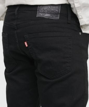 Levi's More Jeans Tapered Pants Blended Fabrics Street Style Plain Cotton